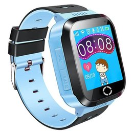 Практические рождественские подарки онлайн-Practical Kids GPS Smartwatch, 1.44 inch Smart Watch Bracelet For Children Christmas Gifts with Touch Screen Camera Pedometer
