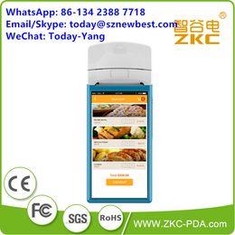 rfid lesegerät handheld Rabatt Robuster PDA 2D-Barcode-Scanner PDA-Handheld-Android-RFID-Leser