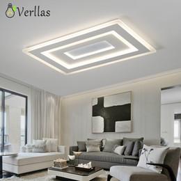 диммер для светодиодных потолочных светильников Скидка Luminaire Modern Led Ceiling Lights For Living Room Study Room Bedroom Home Dec AC85-265V lamparas de techo Ceiling Lamp dimming