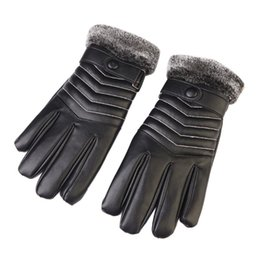 Wholesale Riding Gloves For Women - Outdoor Snow Waterproof Ski Gloves Touch Screen Winter Warm Riding Thickened Plush Gloves Black For Men Women Sport Winter