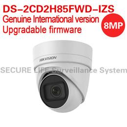 Canada Version anglaise internationale DS-2CD2H85FWD-IZS Tourelle réseau 8MP Analyse du comportement de la caméra de vidéosurveillance IP WDR VF Objectif IP67 IK10 H.265 supplier international english Offre