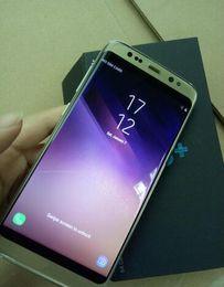 Wholesale Gb Print - Goophone S8 plus S8+ edge Quad Core 4G LTE Show MTK6580 4GB+64GB 1280*1920 Pixels 5.8 inch QHD IPS Screen 13.0MP With Finger Print