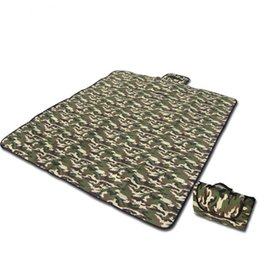Wholesale ground controls - Practical Camouflage Picnic Mat Soft Moisture Proof Tent Cushion Waterproof Sand Control Outdoors Ground Pad Easy To Carry 23 5at Y