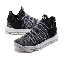 Wholesale Kds Shoes - 2017 Zoom KD 10 Basketball Shoes Mens Men's White Tennis BHM Kevin Durant 10 X Kds Floral Aunt Pearls Easter Sport Shoe Athletic Sneakers