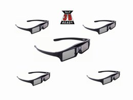 Wholesale 3d Dlp Projector - 5pcs Active shutter 144Hz 3D Glasses For Acer BenQ Optoma ViewSonic Dell LG Vivitek DLP Link Projector