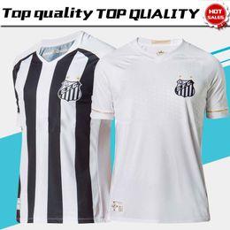 0e44d881a406b Novo 2019 Santos Casa Camisa De Futebol Branco 18 19 Santos Futebol Clube  Fora Camisa De Futebol Preto Branco 2018 Brasil Club Uniforme De Futebol De  Vendas
