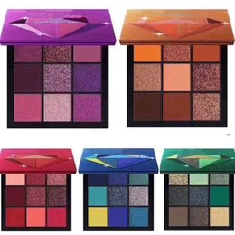 makeup stars Coupons - Newest Hot Makeup Brand Beauty Palette 9 color mini eyeshadow palette 5 Style star colors Eyeshadow