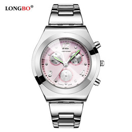 2019 longbo watch woman LONGBO  Quartz Watches Luminous Analog Women Diamond Bracelet Watch Ladies Casual Waterproof Wristwatches 8399 moda mujer скидка longbo watch woman