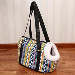 sacs à provisions pour chiens en gros Promotion Carrier chien sac à dos confortable chiot doux chat chien sacs en plein air randonnée voyage chiot sac Chihuahua épaule transporteur Pet Products