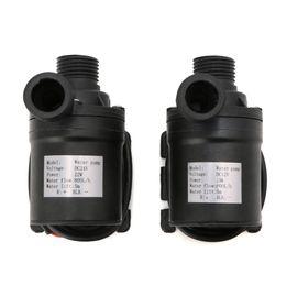 Wholesale Submersible Pressure Pump - 800L H 5m DC 12V 24V Solar Brushless Motor Water Circulation Water Pump Submersibles Water Pumps