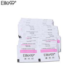 Polimento molhado on-line-Elite99 50 pcs Gel Polonês Removedor Wraps Pads Ferramentas Manicure Wet Wipes Almofadas De Papel Foil Nail Art Cleaner para Gel UV