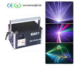 Wholesale 3d Lasers Rgb - 4000mW rgb laser light , beam Animation and 3D effects laser ,programmable laser disco light
