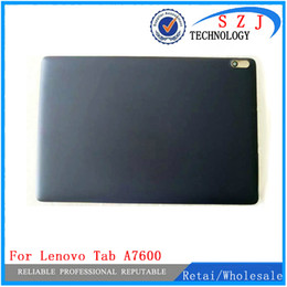 cover back lenovo tab Coupons - New 10.1'' inch For Lenovo Tab A10-70 A7600 A7600-F back case cover Rear shell Battery cover Repairment Free Shipping