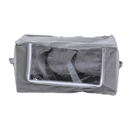 Wholesale Weave Suppliers - China bag Suppliers Non-woven fabric Boxes for home Organization Plus Size Finishing Storage Boxes with Windows Bags 58 X 36