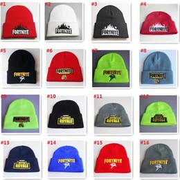 cappelli di inverno bella ragazza Sconti 16 colori battaglia cappello lavorato a maglia moda hip hop ricamo lavorato a maglia costume berretto inverno bambini morbido caldo skuilles berretti da esterno mk870