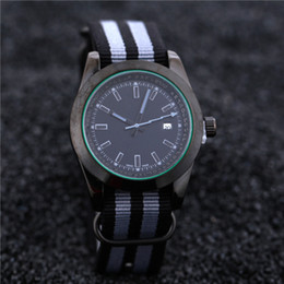 Wholesale Brand Tape - 38mm Nylon tape color luxury brand automatic quartz watches date men's fashion leisure sports watches for men and women