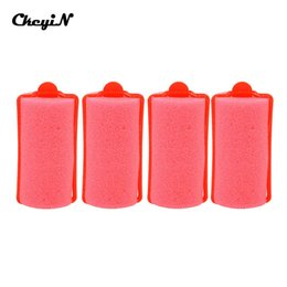 hair damage Coupons - Styling Tools Rollers 27Pcs Girls Sleeping Soft Cushion Curlers Sponge Hair Roller Large Pear Hair Tool Hairdressing Rollers No Damage