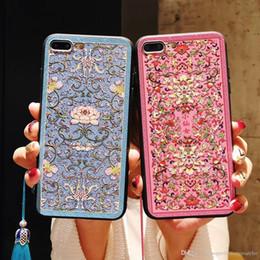 Canada 1 PCS Pour iPhone 8 cas de téléphone Royal Lotus Totem Mobile Shell pour iPhone 6/7 / X Offre
