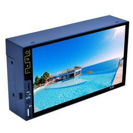 7 дюймов Bluetooth FM-радио стерео MP5-плеер HD 1090P FM USB-плеер LED сенсорный экран монитор RDS стерео аудио радио для автомобиля cheap touch screen monitor for cars от Поставщики сенсорный экран для автомобилей