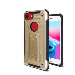 Wholesale C Prime - Hybrid Armor Case For Samsung Galaxy J3 Emerge J7 prime 2017 S8 S8 plus Note 8 S7 Vantage Dual Protective Shock-Proof Kickstand C