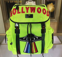 Wholesale Nylon Coffee - New Arrival AAAAA quality Techno Canvas Backpack,Techno Backpacks with Embroidery,Black Mesh Back,Nylon Lining,Free Shipping