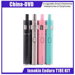 Wholesale cigarette refills - Authentic Innokin Endura T18E Starter Kit 1000mAh 2ml Top Refilling Atomizer VS Endura T18 Kit Yocan Magneto Kit E-cigarette Kits