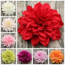 Wholesale fake flower crafts - 15cm Craft Fake Bouquet Silk Peony 8 Colors Artificial Real Touch Flowers Party Home Decoration EEA396 60pcs