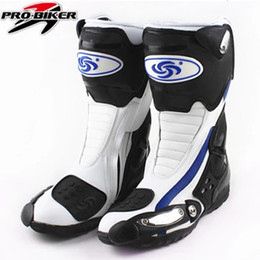 d00a96e9 2017 Outdoor Sport Motorcycle Mircrofiber Leather Boots Pro Racing Riding  Boots Motorbike Wear-resistant motorcycle