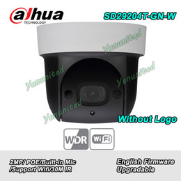 Caméras dahua 2mp en Ligne-Dahua Anglais Neutre SD29204T-GN-W 2MP 4x Caméra Réseau PTZ IR SD29204T-GN sans Logo