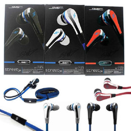 Wholesale tablets wholesale prices - Mini 50 Cent Earphones SMS Audio Street by 50 Cent Headphone In-Ear Headphones Factory Price for Mp3 Mp4 Cell phone tablet