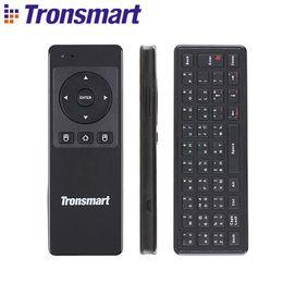 [Russo Opcional] Tronsmart TSM-01 2.4 GHz Teclado Sem Fio Air Mouse Gaming Acessórios para Computador Tablet PC Android TV Box de