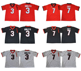 2018 Cheap Georgia Bulldogs College Jerseys 3 Todd Gurley II 7 D Andre  Swift 10 Jacob Eason 11 Jake Fromm 27 Nick Chubb 34 Herschel Walker  herschel walker ... 696586116