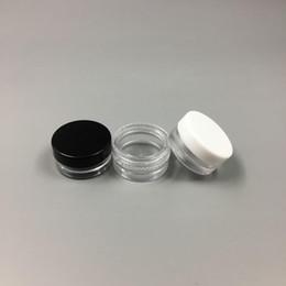 1ML En Plastique Clair Vide Pot 1G Cosmétique Mini Pot Acrylique Maquillage Ombre À Paupières Baume À Lèvres Nail Art Pièce Conteneur Bouteille Voyage Taille De L'échantillon ? partir de fabricateur