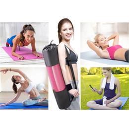 Almofada de camping grossa on-line-Exercício Pad Yoga Pad tamanho Extra grande (L x W: 68x24 polegadas) 6 MM de Espessura Não-deslizamento Ginásio de Fitness Pilates Suprimentos Camping Ginásio Novo W8