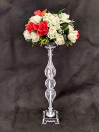 neues Modell elegante Tischdekoration Hochzeit Kristall Mittelstücke Großhandel Kristall Kandelaber Kristall Glas Kerzenhalter Hochzeit liefert von Fabrikanten