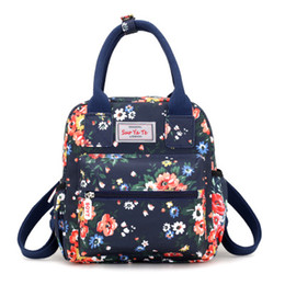 625a9d879c44 teenage cartoon backpack UK - Waterproof Women Backpacks Female Casual  Printing School Bags For Teenage Girls