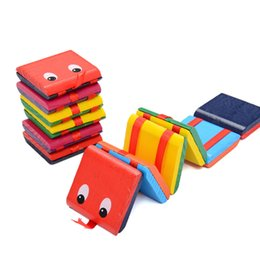 Wholesale Novelty Board Games - Novelty Magic Wooden flap toys colorful board game toys exercise hand-eye coordination toy Montessori education toys