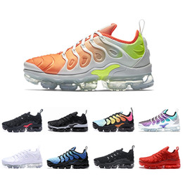 43a9bbedb27d2c max running trainers Coupons - 2018 NEW Air Shoes TN Plus Men Women Triple Black  red