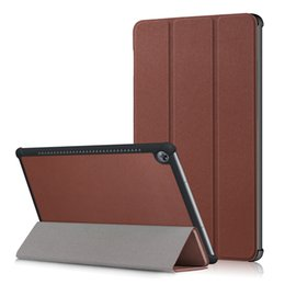 "skin deep Promo Codes - PU Leather Stand Magnetic Tri-Folding Smart Cover Case For Huawei M5 10.8"" CMR-AL09 CMR-W09 +Pen"