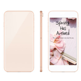 Wholesale gsm phone android wifi - 5.5inch Goophone 8 plus Quad Core MTK6580 512M RAM 4G ROM 5MP 2G GSM Andriod Unlocked phone Sealed Box Fake 4G Displayed