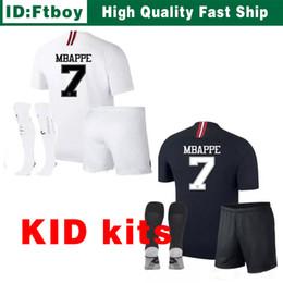 Thailand Maillot de foot MBAPPE NEYMARs JR soccer jerseys 18 19 Kids jersey  17 18 football shirt KIT paris saint germain survetement psg 1974bb36f
