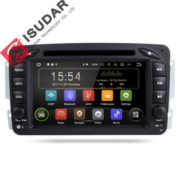 Wholesale Dvd Tv Car Mercedes - Two Din Android 7.1.1! 7 Inch Car DVD Player For Mercedes Benz W209 W203 W168 M ML W163 Viano W639 Vito Vaneo Wifi GPS FM Radio