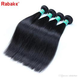2019 frisuren für weben Brasilianisches reines Haar bündelt gerade Rabake 8A brasilianisches gerades 100% unverarbeitetes nasses und gewelltes Menschenhaar-Schussfaden-Abkommen-Webart-Frisuren rabatt frisuren für weben