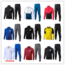 Wholesale football training trousers - 2017 high quality JUVA football training survetesuit jacketand trousers survetement 2017- 18JUVA sweater sportswear football training suit