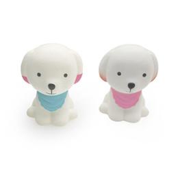 Grande Kawaii Squishy Filhote de Cachorro Simulado Animal Lento Rebote Adorável Pequeno Puppys Squishies Brinquedos Descompressão Presentes Atacado de