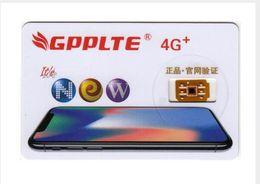 Wholesale Gpp Pro - 8 Photos Original GPPLTE Pro 3 4G+ Card Neter Air Unlock Sim IOS11 iPhone X 8 8 Plus 7 6S 6 5S RSIM11 GPP Unlocking