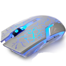 2019 computer windows xp I topi muto silenzioso ricaricabile Wireless Mouse risparmiare energia elettrica Emitting Gaming Mouse per Computer Desktop Notebook Ufficio