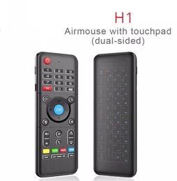 беспроводная клавиатура stb Скидка H1 полный 2.4 ГГц мышь воздуха с подсветкой сенсорная панель беспроводная клавиатура 6-осевой гироскоп пульт дистанционного управления с подсветкой для Andriod / Windows / Mac OS / Linux LLFA