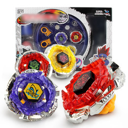 Wholesale New Beyblade Sets - Rapidity Super Top Clash alloy Metal constellation Beyblade suits 2018 New Children Spinning Tops Beyblades Metal Fusion toys 18pcs sets B