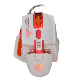Mouse de ponta on-line-X200 quatro cores brilho macro definição high-end gaming mouse Iluminação LED legal com macro definição software mouse